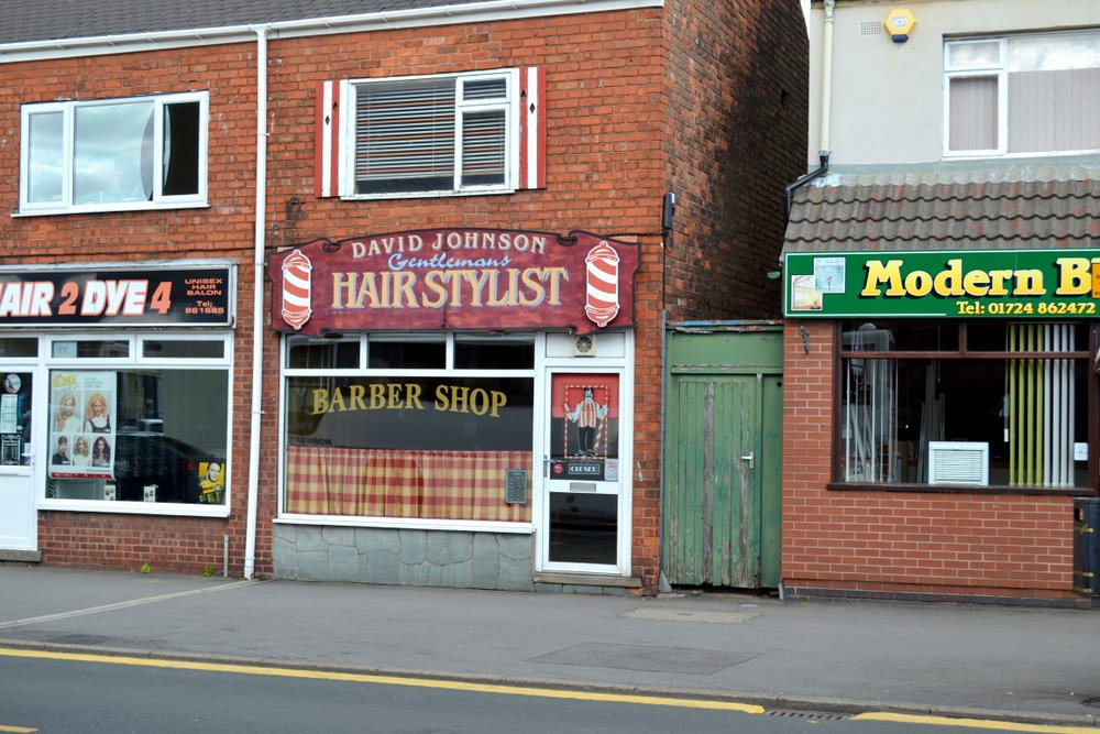 GENT HAIRDRESSING SALON 9 BOTTESFORD ROAD SCUNTHORPE,