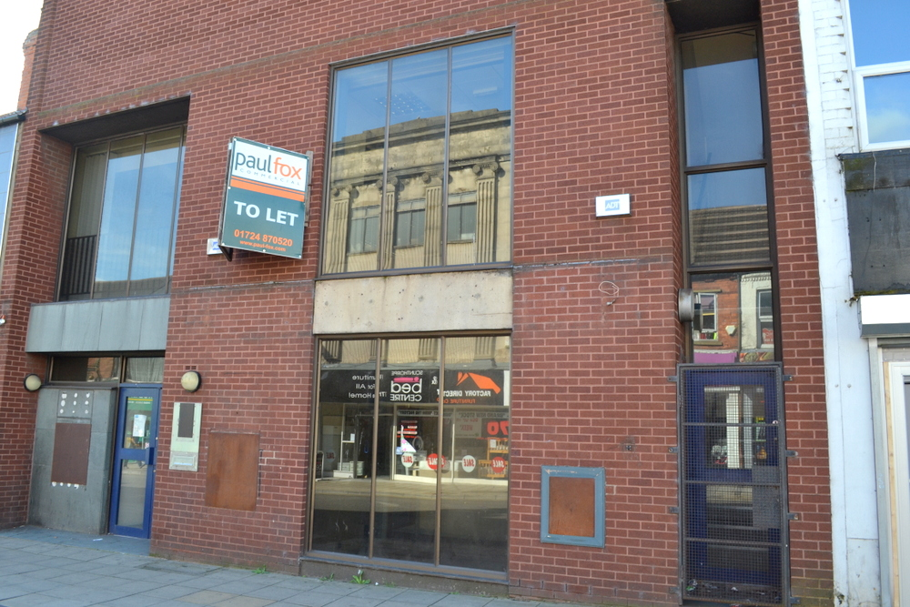 - LETTING AGREED 165 HIGH STREET SCUNTHORPE NORTH LINCOLNSHIRE,