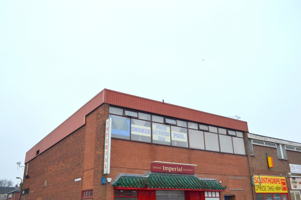 FORMER SNOOKER HALL 1 PAVILION ROW DONCASTER ROAD SCUNTHORPE,