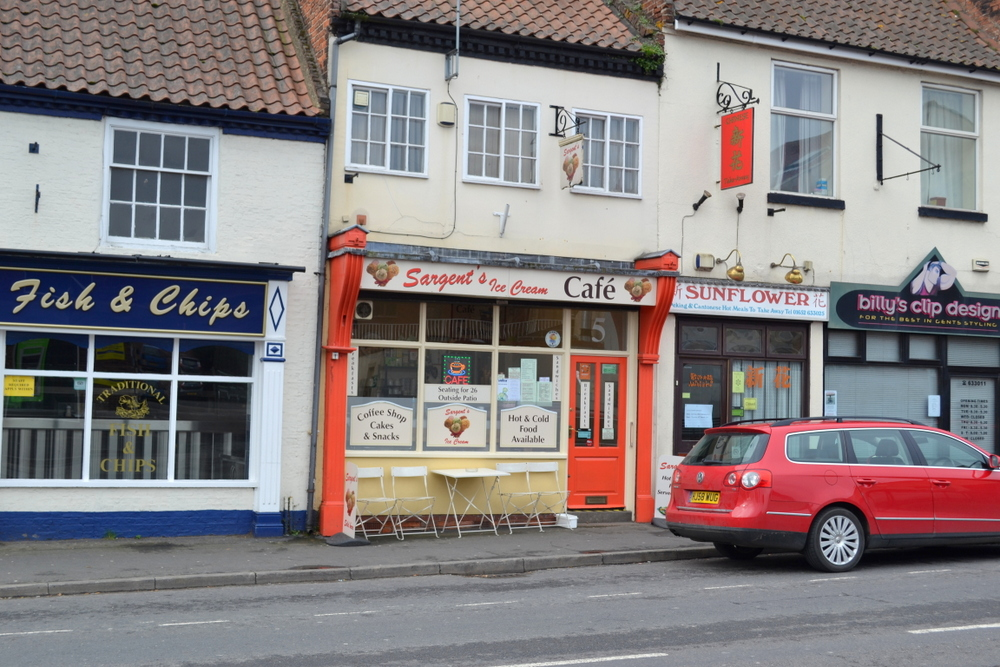 SARGENTS ICE CREAM PARLOUR AND TEA ROOM BARTON UPON HUMBER,