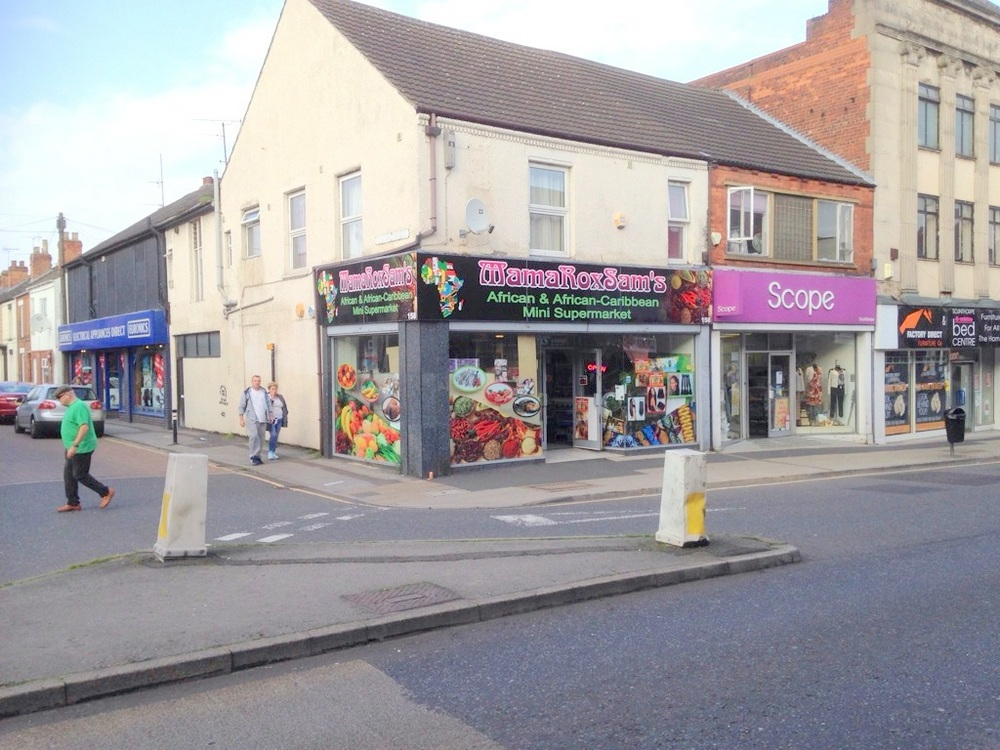 158 HIGH STREET SCUNTHORPE NORTH LINCOLNSHIRE,