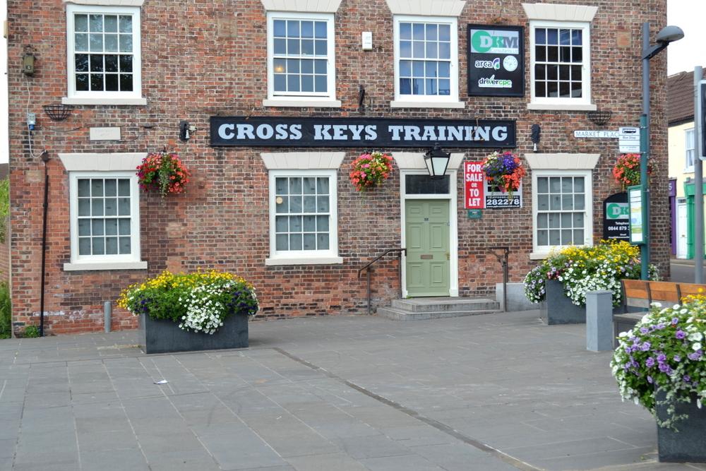 CROSS KEYS MARKET PLACE CROWLE NORTH LINCOLNSHIRE,