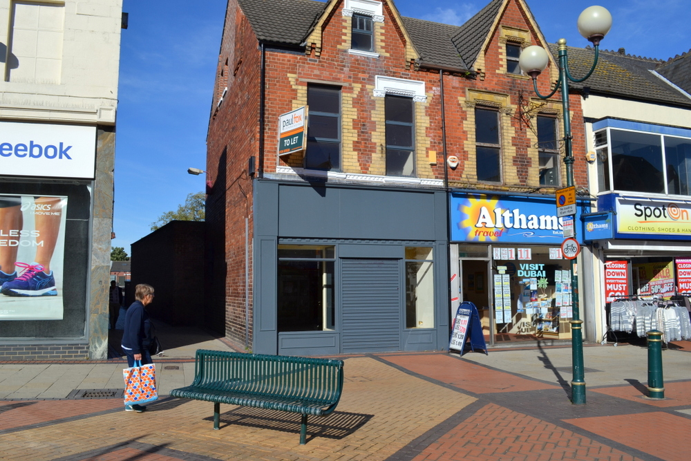 LETTING AGREED 96 HIGH STREET SCUNTHORPE NORTH LINCOLNSHIRE  DN15 6HB,