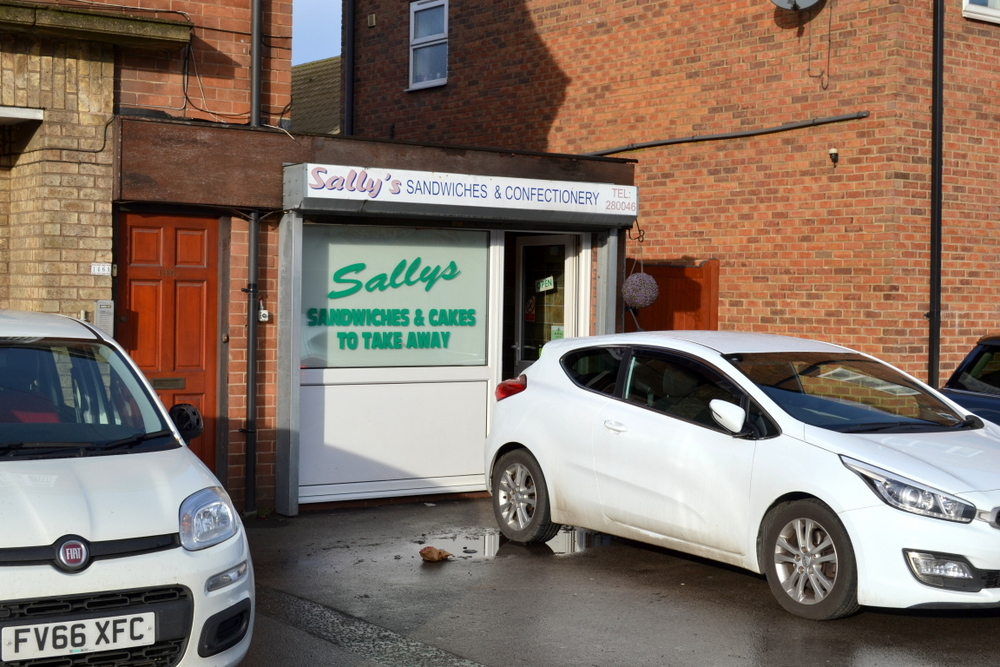 SANDWICH/CATERING BUSINESS 146B SCOTTER ROAD SCUNTHORPE NORTH LINCOLNSHIRE DN15 7EQ,