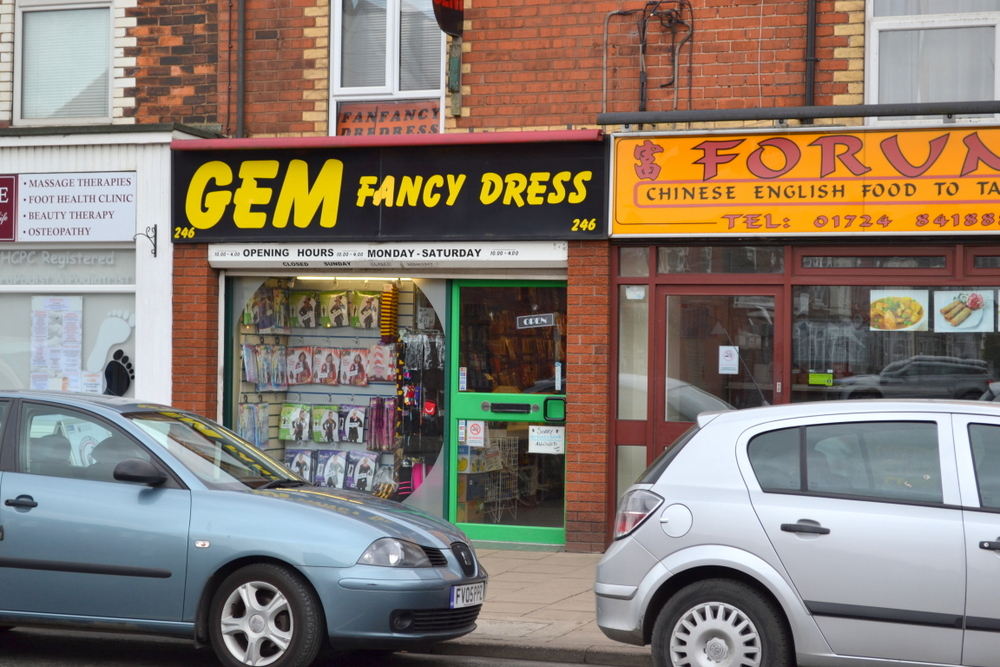 246 ASHBY HIGH STREET SCUNTHORPE NORTH LINCOLNSHIRE DN16 2SE,
