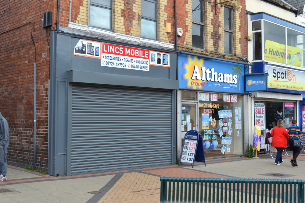 96 HIGH STREET SCUNTHORPE NORTH LINCOLNSHIRE DN15 6HB,