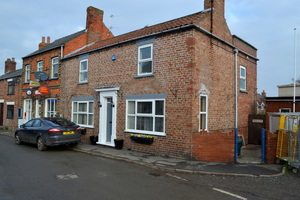 THE POST OFFICE AND CREASEY HOUSE SILVER STREET WADDINGHAM LINCOLNSHIRE DN21 4SJ,