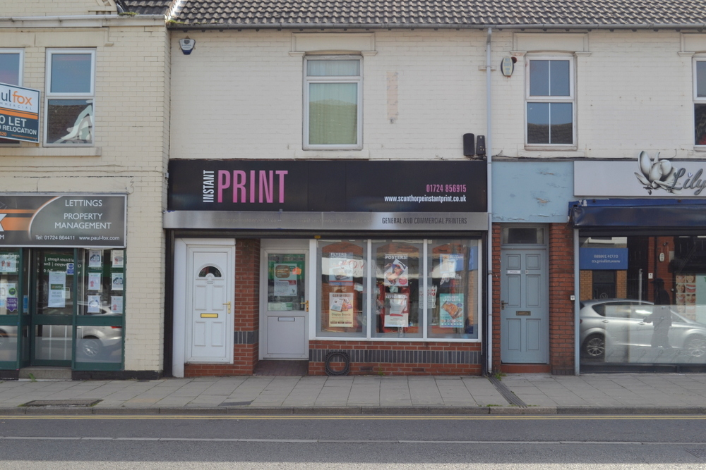 DUE TO RELOCATION 38 A OSWALD ROAD SCUNTHORPE DN15 7PQ,